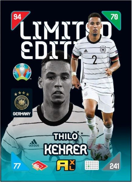 UEFA EURO 2020™ Adrenalyn XL™ 2021 Kick Off – LE Card – Thilo Kehrer (Deutschland)