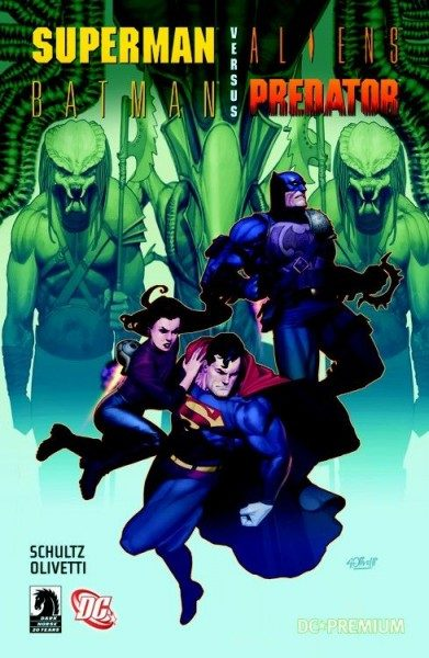 DC Premium 52 - Superman/Batman vs. Aliens/Predator Hardcover