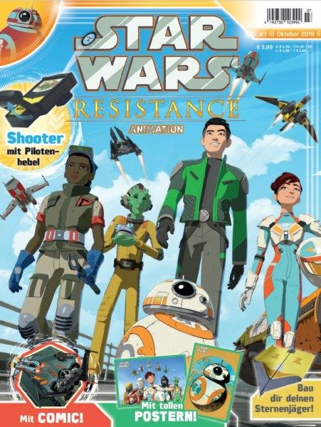 Star Wars - Resistance - Animation 3 Cover
