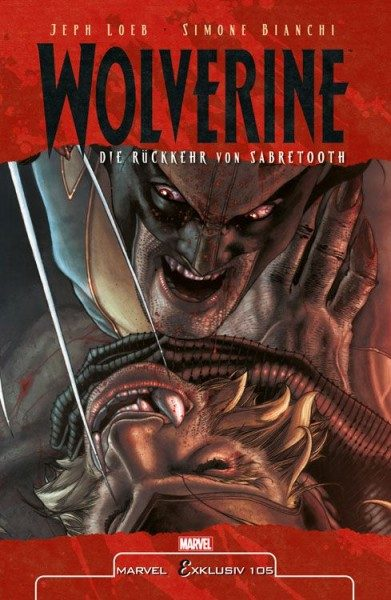 Marvel Exklusiv 105 - Wolverine vs. Sabretooth Hardcover