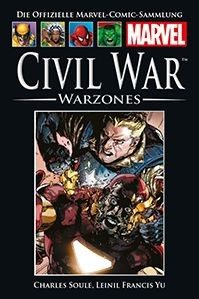 Hachette Marvel Collection 151 - Civil War - Warzones