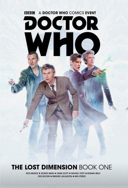Doctor Who - Die verlorene Dimension 1 Cover