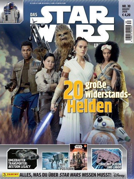 Star Wars Universum Magazin 30 Kids Cover