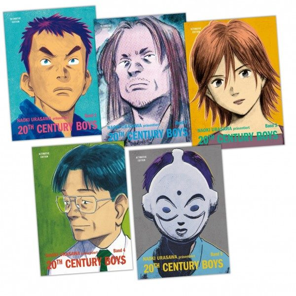 20th Century Boys - Ultimative-Bundle 1-5