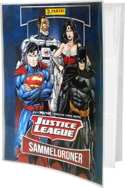 Justice League MetaX Trading Card Game - Sammelordner