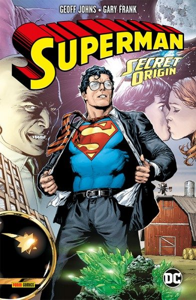 Superman: Secret Origin Cover