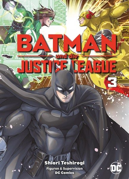 Batman und die Justice League 3 Cover