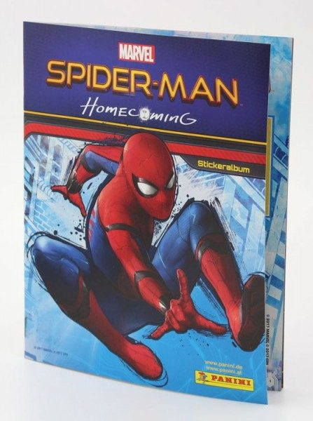 Marvel - Spider-Man Homecoming Stickerkollektion Album
