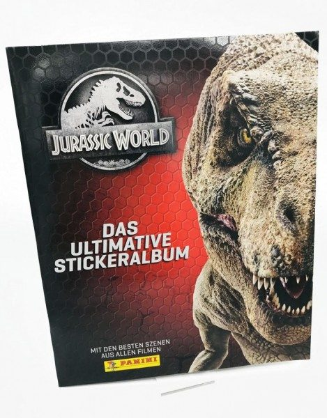 Jurassic World Anthology - Sticker und Cards - Album Cover