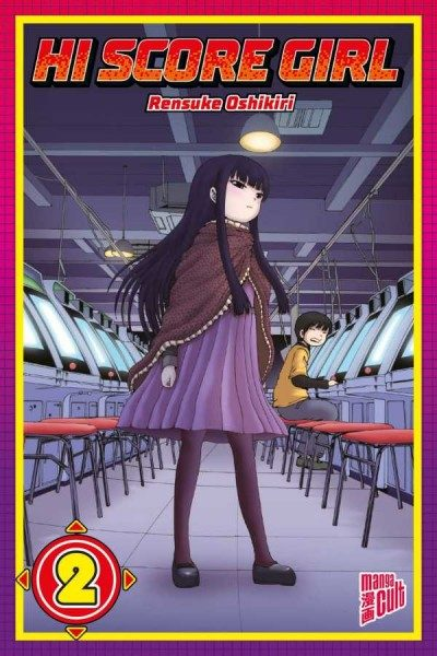 Hi Score Girl 2 Cover