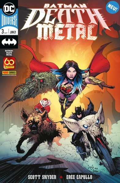 Batman - Death Metal 3 Cover