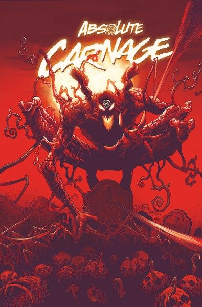 Absolute Carnage Paperback Cover