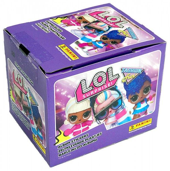 L.O.L. Surprise! Fashion Fun! Stickerkollektion - Box mit 50 Tüten