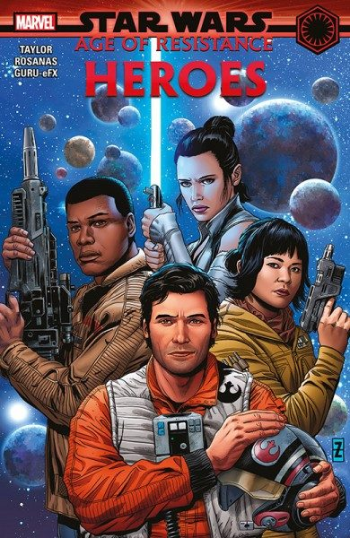 Star Wars - Age of Resistance - Helden Hardcover Cover