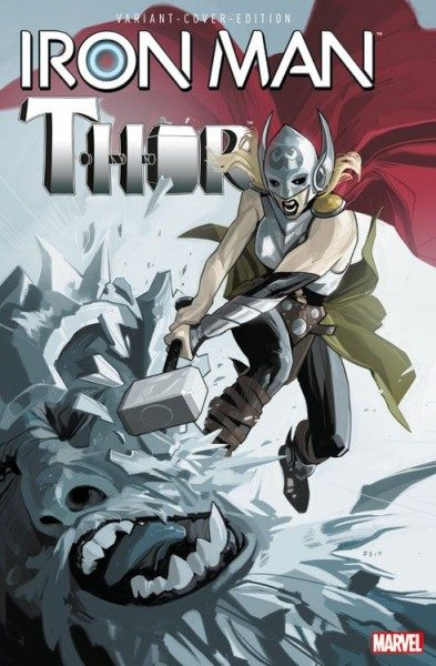 Iron Man/Thor 3 Variant - Comic Action 2015