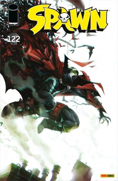 Spawn 122 Cover