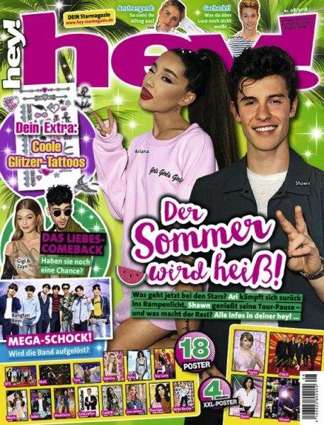 hey! Magazin 08/18