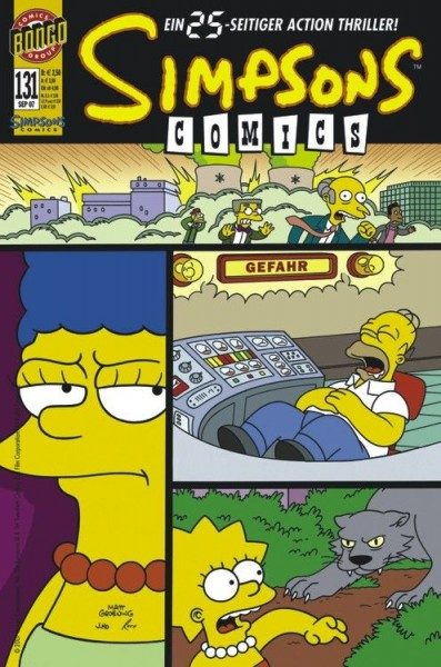 Simpsons Comics 131