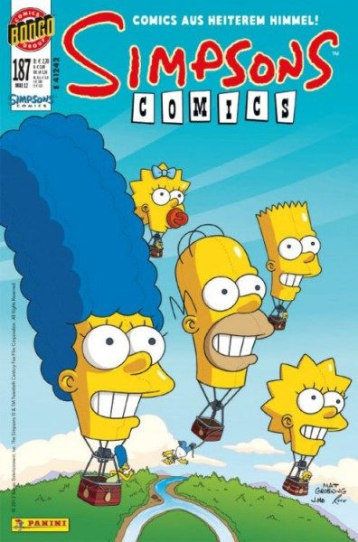 Simpsons Comics 187