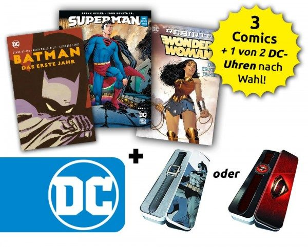 Superhelden – Bundle für DC-Neuleser
