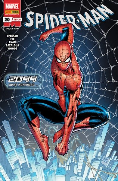 Spider-Man 20 Cover