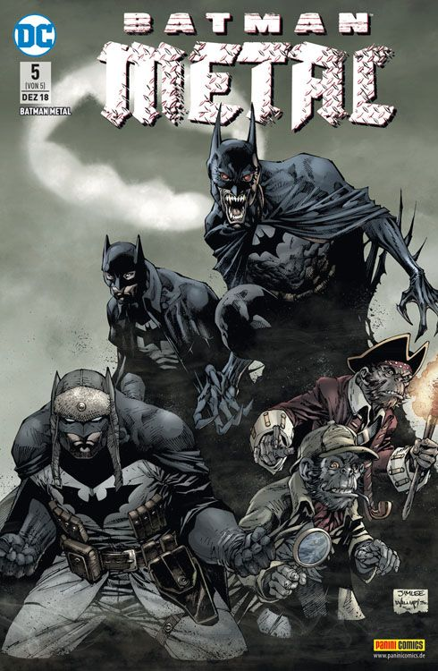 Batman Metal 5 Variant A