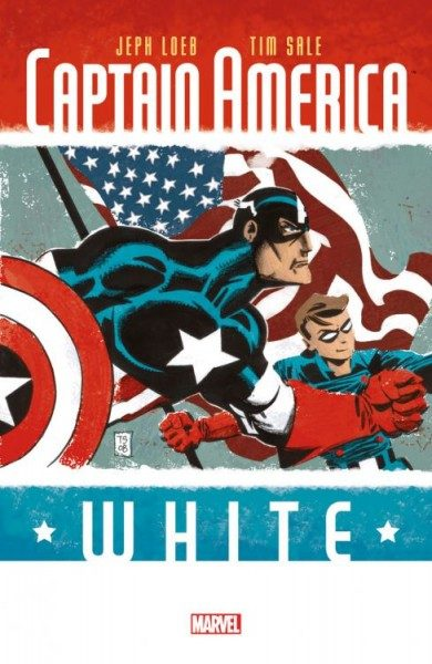 Captain America - White Comic Salon Erlangen Variant