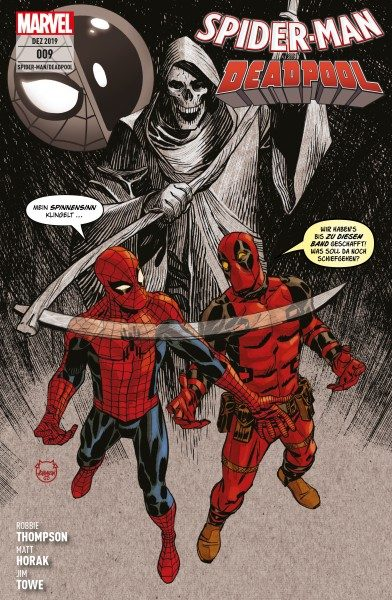 Spider-Man/Deadpool 9 - Durch die Vierte Wand Cover