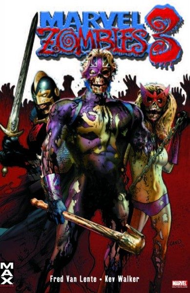 Marvel Zombies 3 Comic Action 2009 Variant
