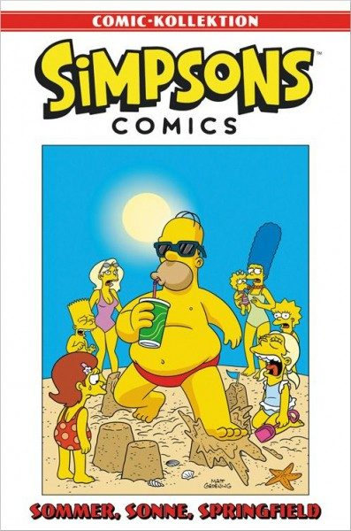 Simpsons Comic-Kollektion 34: Sommer, Sonne, Springfield Cover