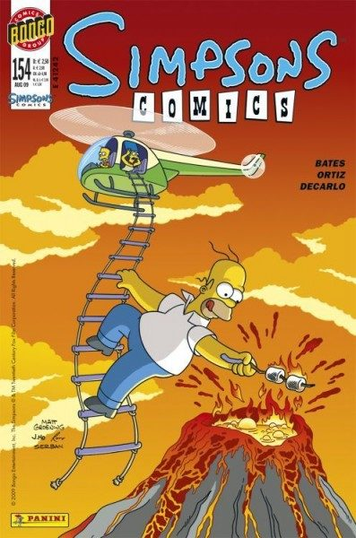 Simpsons Comics 154