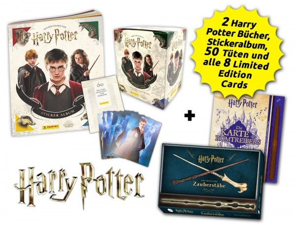 Harry Potter - Super-Deal Bundle - Inhalt Bücher und Sticker