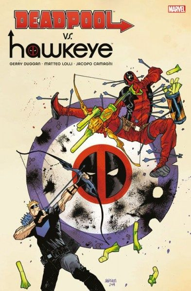 Deadpool vs. Hawkeye