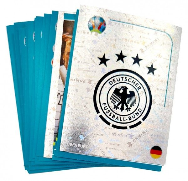 UEFA EURO 2020 - The Official Preview Collection - DFB Sticker Komplett-Set