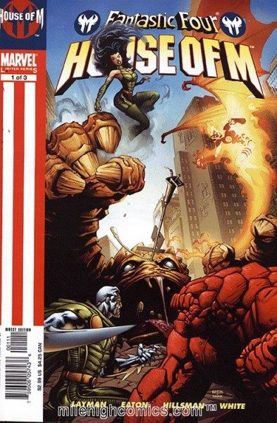 Marvel Monster Edition 13 - Fantastic Four - House of M
