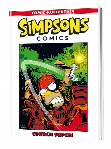 Simpsons Comic-Kollektion 43 - Einfach super! Cover