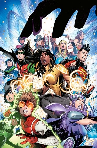 Young Justice 3 Cover