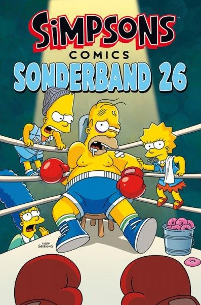 Simpsons Comics Sonderband 26 - Knock-Out