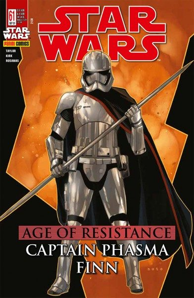 Star Wars 61: Age of Resistance - Captain Phasma & Finn - Kiosk-Ausgabe