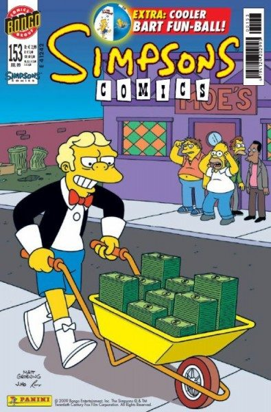 Simpsons Comics 153