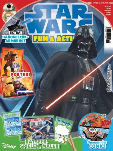 Star Wars Fun & Action Magazin 01/21 Cover