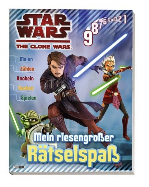 Star Wars - The Clone Wars - Rätselspaß
