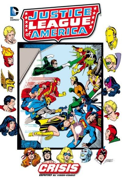 Justice League of America - Crisis 6 Hardcover