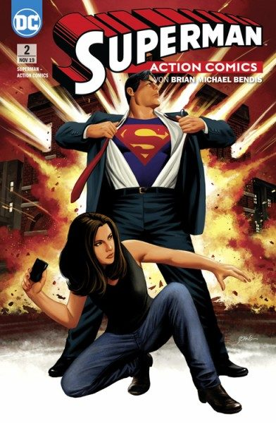 Superman - Action Comics 2 - Leviathan erwacht! Cover