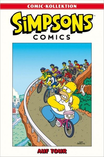 Simpsons Comic-Kollektion 10: Auf Tour Cover