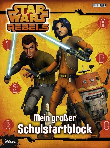 Star Wars - Rebels - Schulstartblock