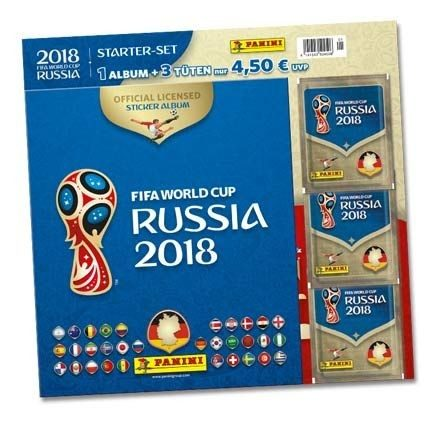 2018 FIFA World Cup Russia Stickerkollektion – Starterset 1