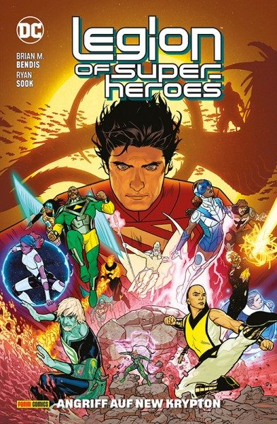 Legion of Super-Heroes 2 - Angriff auf New Krypton Cover