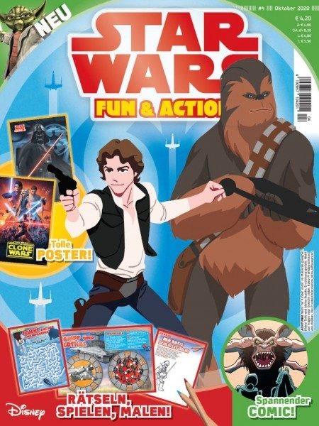 Star Wars Fun & Action Magazin 04/20 Cover