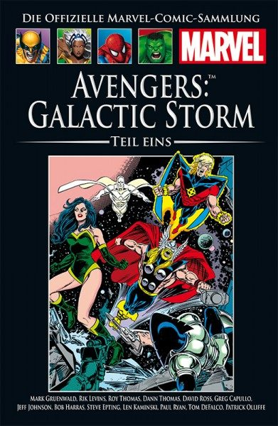 Hachette Marvel Collection 182 - Avengers - Galactic Storm, Teil I Cover